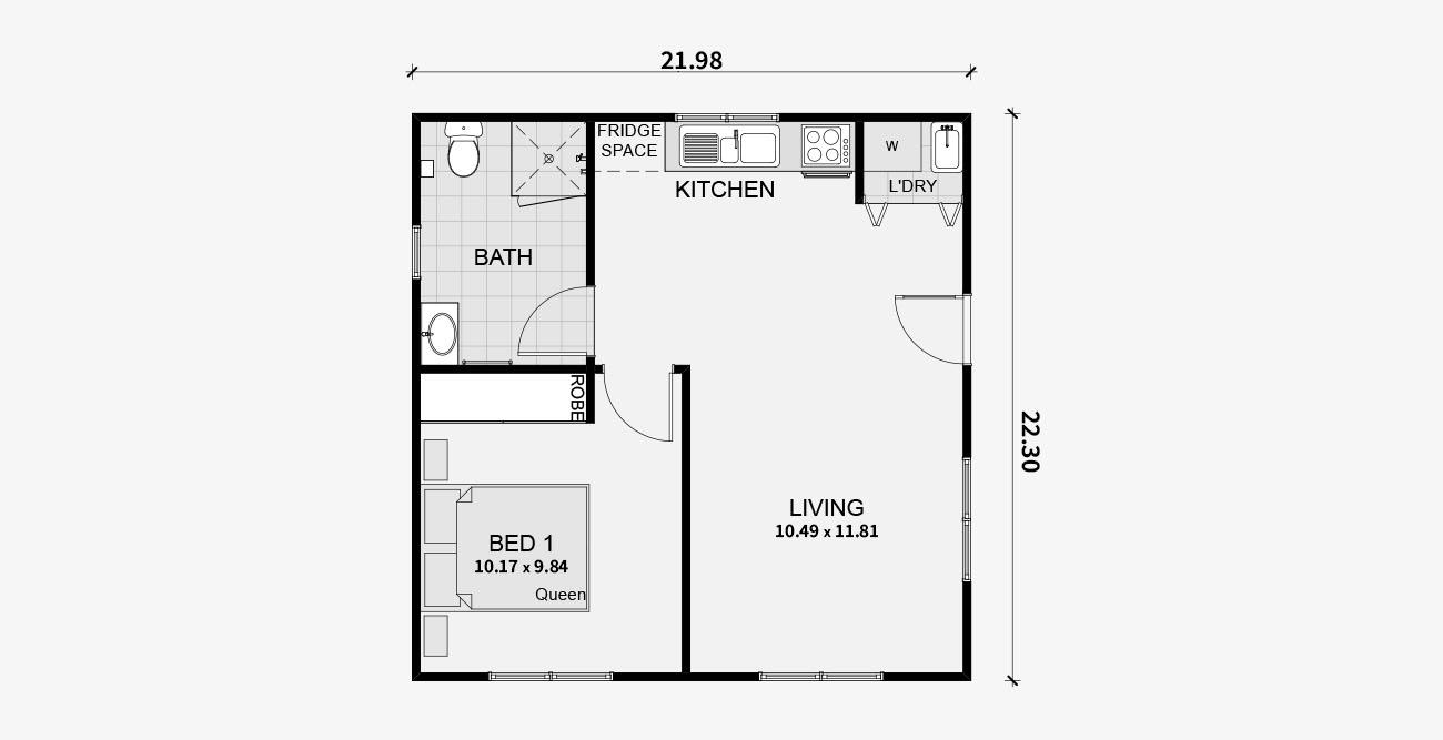 Adu Architect Drafter Los Angeles Residential Blueprints Floor Plans